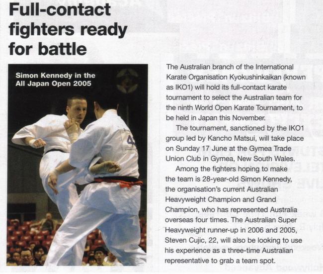 Blitz Magazine, June 2007 Australia