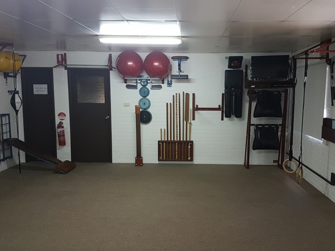 Air Conditioned Dojo Up Stairs (Reverse View)