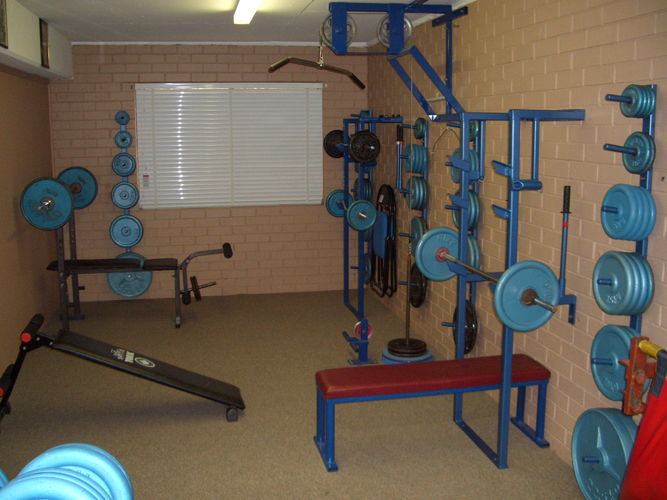 Weight Training Room